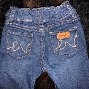 Toddler girl Wangler jeans